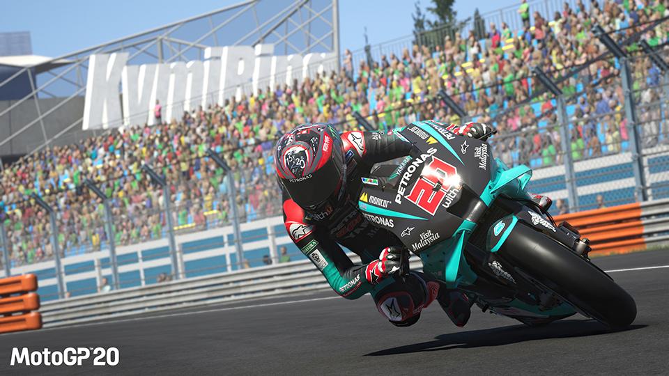 『 MotoGP™20』(日本語版)PlayStation4版、Nintendo Switch版のQA、LQAを担当いたしました。