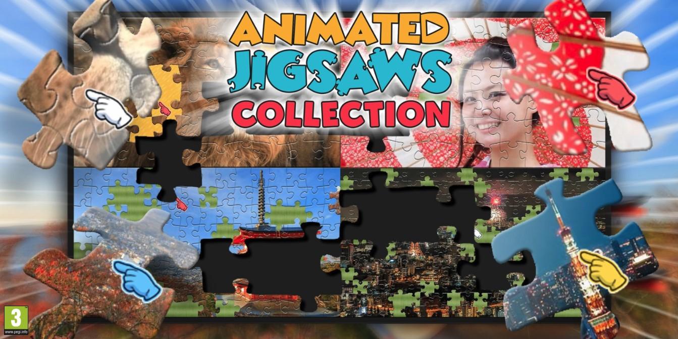 レイニーフロッグ社と協業!過去の「うごくジグソーパズル」シリーズが1つになった超大作Nintendo Switch(TM)版「ANIMATED JIGSAWS COLLECTION」が2019年5月30日よりリリース!